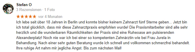 Google Rezension